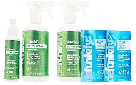 Defunkify Active Spray Deodorizer Combo Pack