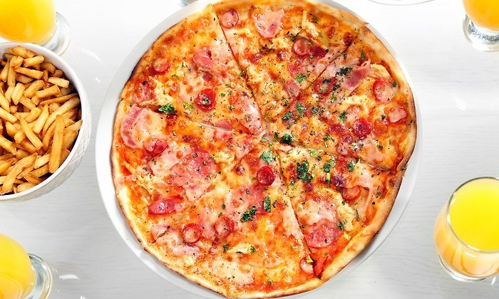 $12 for $20 Worth of Food and Drinks At John Gino's Pizza