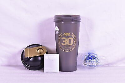 Blender Bottle Optimum Nutrition Classic 28 Oz Shaker Mixer Cup - Black & Gold