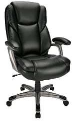 Realspace Cressfield Bonded Leather High-Back Executive Chair