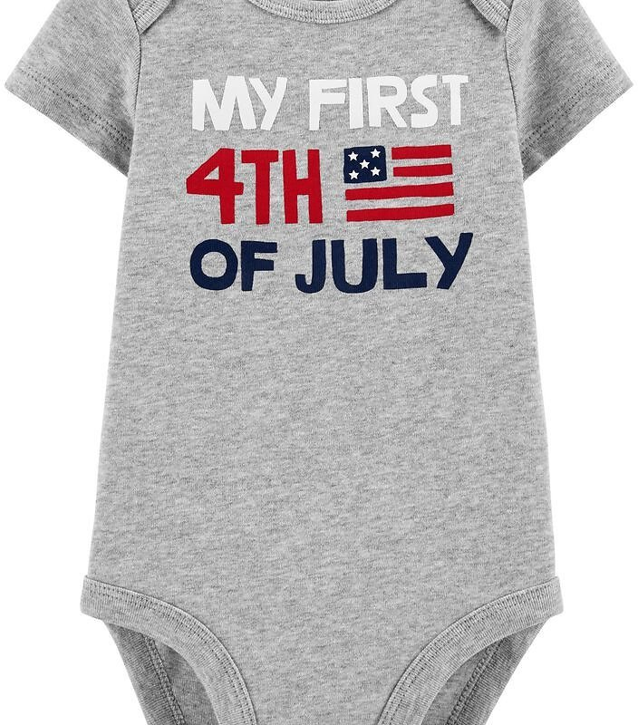 First 4th Of July Collectible Bodysuit