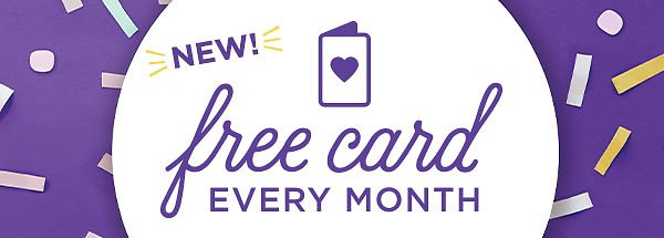 Get A Free Card Every Month For Crown Rewards Members | Hallmark