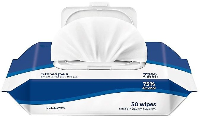 Price Drop! 50-Count Hand Sanitizing Wipes