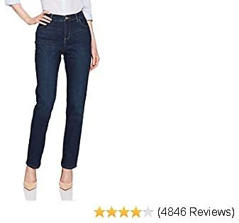LEE Women's Instantly Slims Classic Relaxed Women Jeans