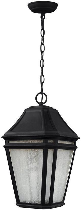 69% Off Today Only! Feiss Londontowne Black LED Hanging Outdoor Pendant