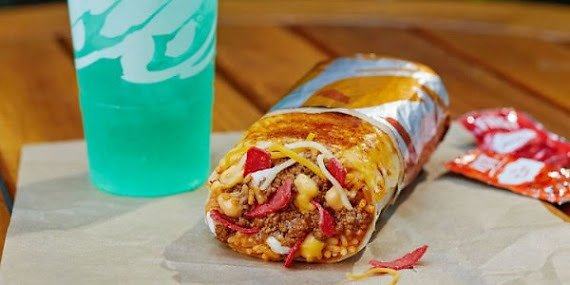 New Taco Bell Grilled Cheese Burrito!