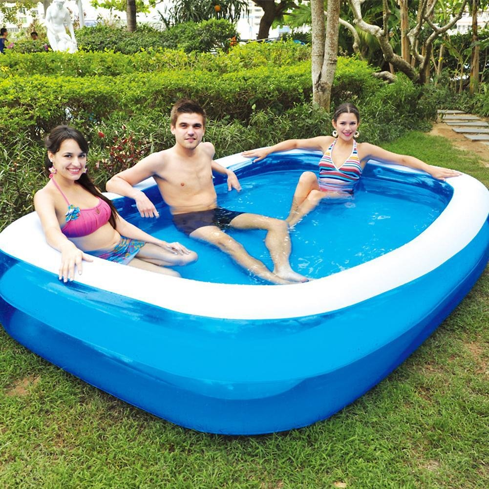 1PC Summer Thickened Inflatable Swimming Pool Family Kids Children Adult Play Bathtub Outdoor Indoor Water Swimming Pool