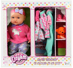 Gi-Go Dream Collection 14 Inch My Lil Wardrobe Baby Doll Set & Reviews - Kids