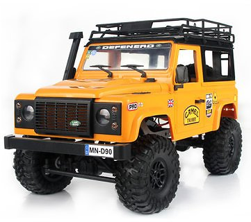 MN90 1/12 2.4G 4WD Rc Car W/ Front LED Light 2 Body Shell Roof Rack Crawler Off-Road Truck RTR ToyRC VehiclesfromToys Hobbies and Roboton Banggood.com
