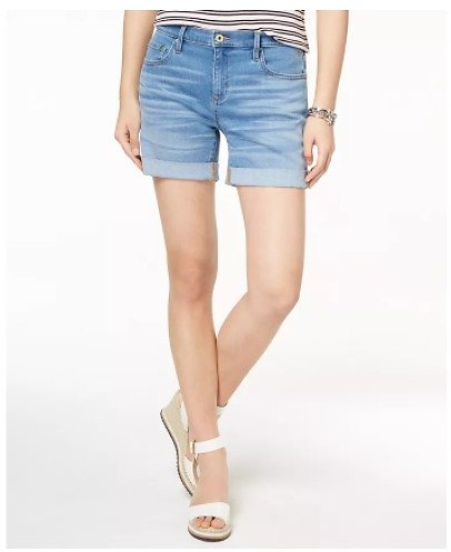 Tommy Hilfiger Cuffed Shorts (3 Colors)