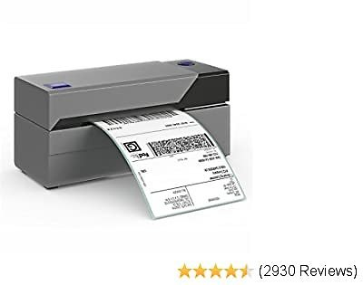 $110 OFF!! Label Printer - NO INK, Thermal High Speed Printer – Compatible with Etsy, EBay, Amazon - Barcode Printer