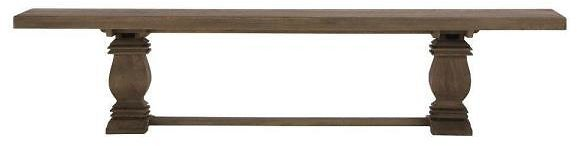 Home Decorators Collection Aldridge Washed Wood Dining Bench NB-046AG