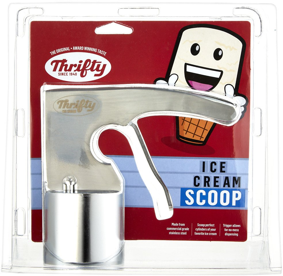 Thrifty Stainless Steel Cylindrical Ice Cream Scoop - 1 Ct
