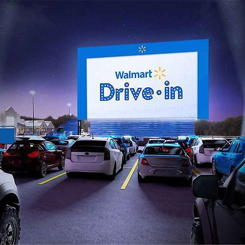 Walmart Drive-In Theaters Movies Will Be Shown Aug 14 to Oct 21