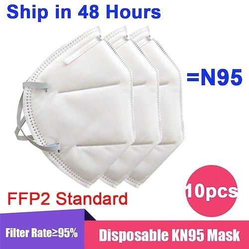 1-50PCS KN95 N95 Mask Disposable Breathable Protective Non-Medical Fack Masks For Health