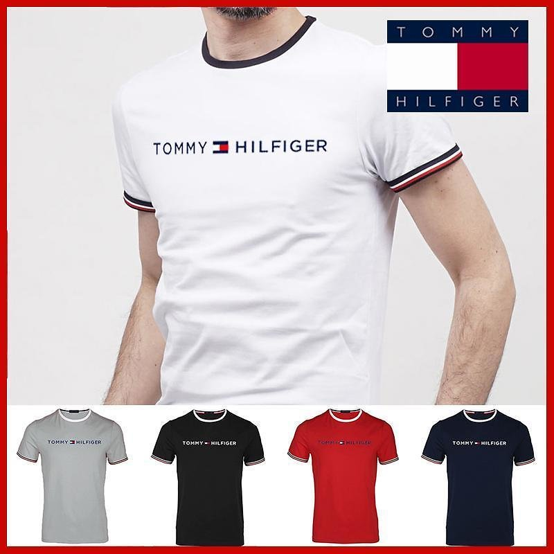 TOMMY T Shirts Homme Pumba Men Casual Short Sleeves Cotton Tops Cool Tshirt Summer Jersey Costume T-shirt