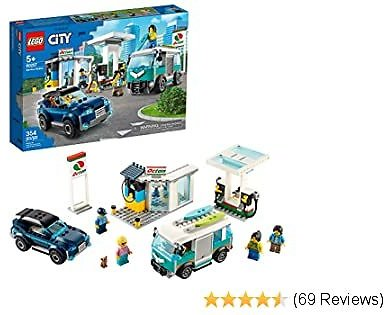20% OFF! LEGO City Service Station, Building Sets for Kids, New 2020 (354 Pieces)