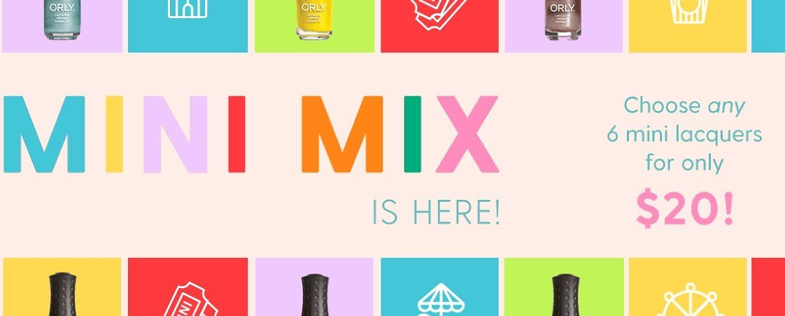 Mini Mix for Only $20