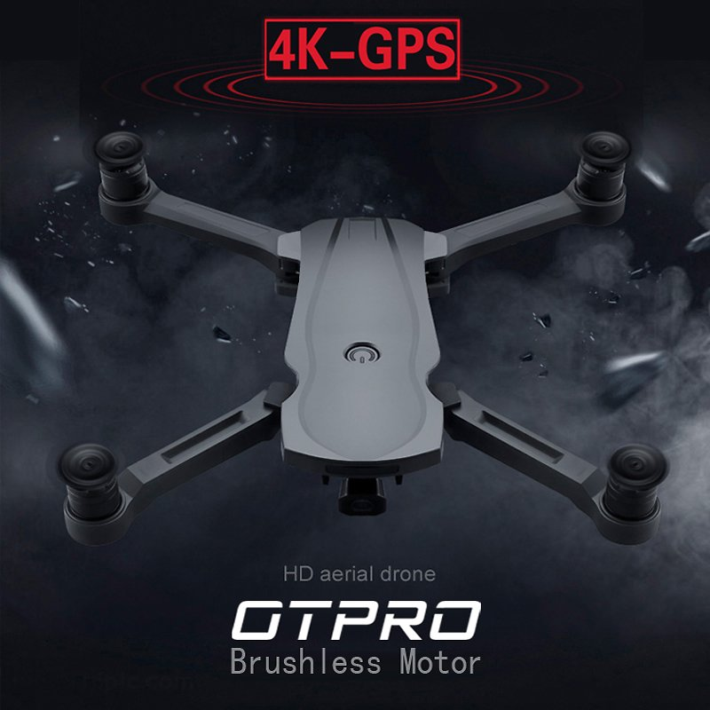 OTPRO New Drone Brushless Motor 5G GPS Drone With 4K Dual Camera Professional Foldable Quadcopter 1200M RC Distance Toy Vs K20