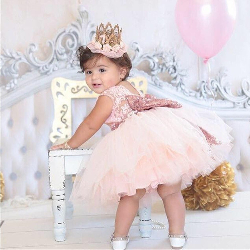 US $6.55 39% OFF|Gorgeous Baby Events Party Wear Tutu Tulle Infant Christening Gowns Children's Princess Dresses For Girls Toddler Evening Dress|princess Dress for Girls|dresses for Girlschild Princess Dress - AliExpress
