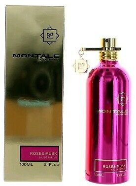 Montale Roses Musk By Montale, 3.4 Oz EDP Spray for Women 3760260450003