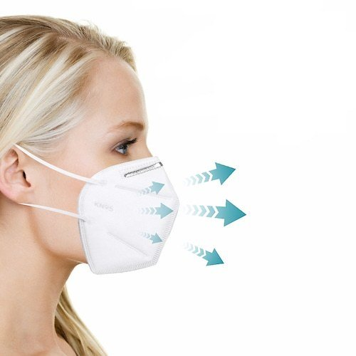 KN95 Face Mask PM2.5 Anti-fog Strong Protective Mouth Mask