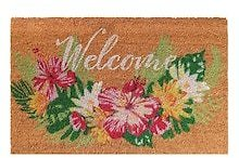 Floral Welcome Doormat By Ashland®