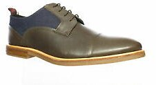Ben Sherman Mens Birk Cap Toe Oxford Dress Shoes