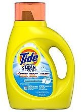 Tide Simply Clean & Fresh Liquid Laundry Detergent, Refreshing Breeze