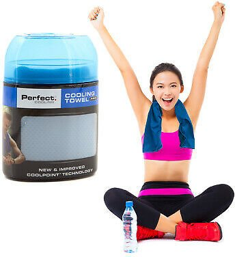 Perfect Cooling Towel Pro Stay Cool & Comfortable For Hours Yoga Hiking Camping