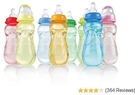 10% OFF 3-Pack Non-Drip Standard Neck Bottles, 10 Ounce, Colors May Vary