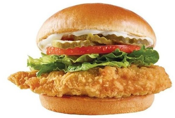 Free New Classic Chicken Sandwich w/ Any Order
