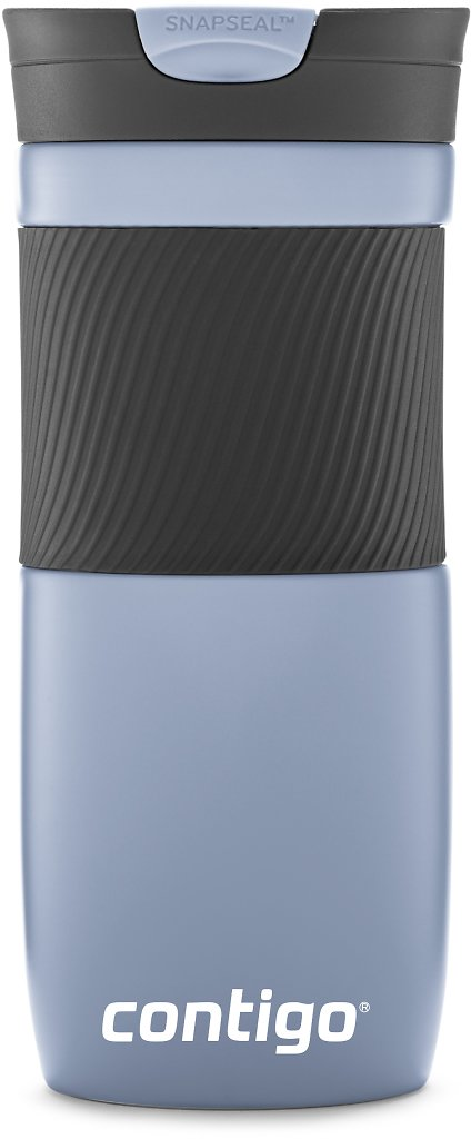 Contigo Byron Snapseal 16 Oz Vacuum-insulated Stainless Steel Travel Mug, Earl Grey
