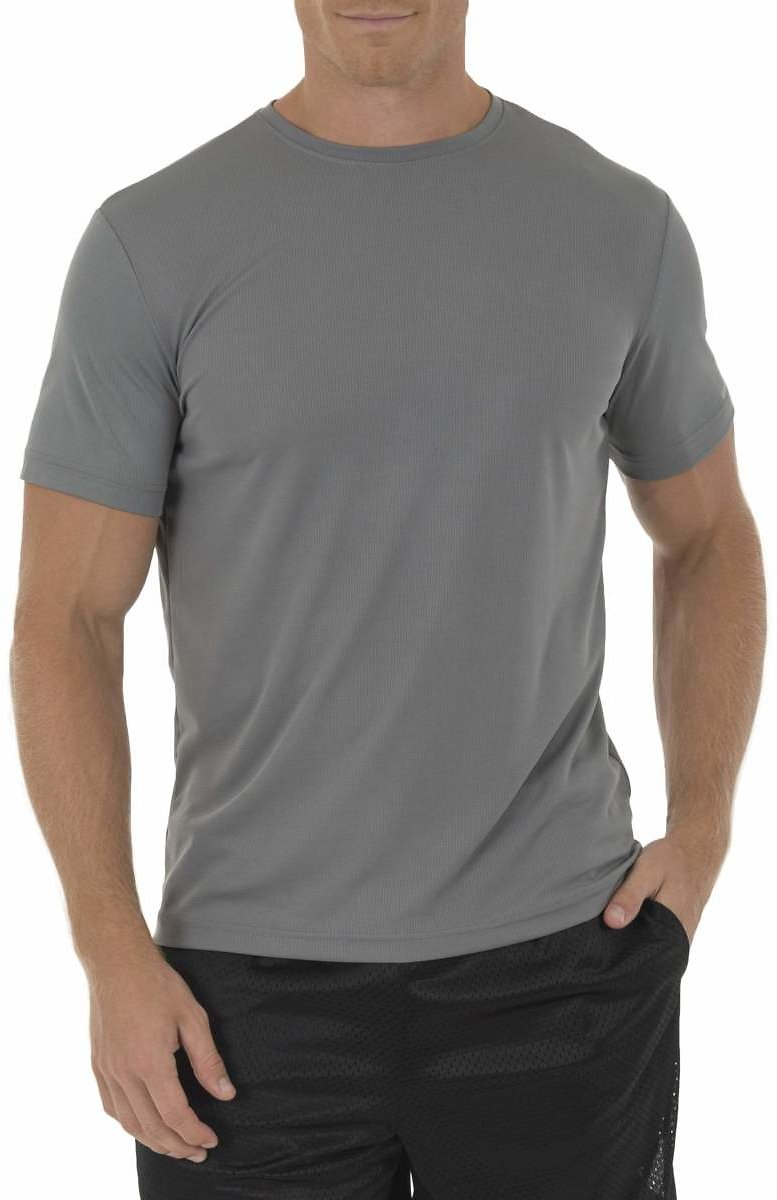 Athletic Works - Athletic Works Men's and Big Men's Core Quick Dry Short Sleeve T-Shirt, Up to Size 3XL