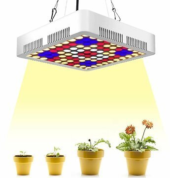 300W 100 LED Grow Light Full Spectrum Panel Indoor Plant Flower Lighting Lamps Indoor Lighting from Lights & Lighting on Banggood.com
