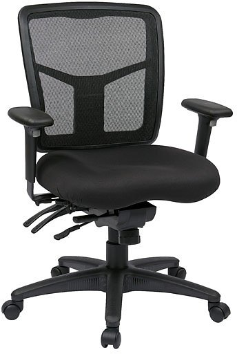 Office Star Products ProGrid Manager's Chair Black
