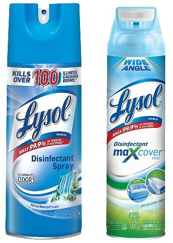 EPA Approves 2 Lysol Sprays to Kill COVID-19