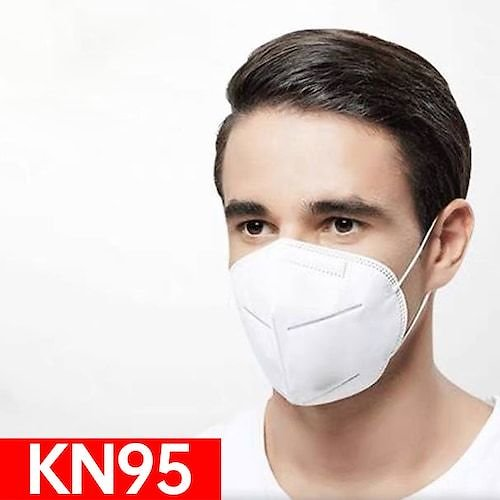 10-100pcs KN95 Face Mask Anti-Virus Dust Roof Mouth Respirator Safety Protection Non-Medical
