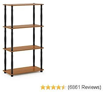Furinno Turn-N 4-Tier Multipurpose Shelf Display Rack