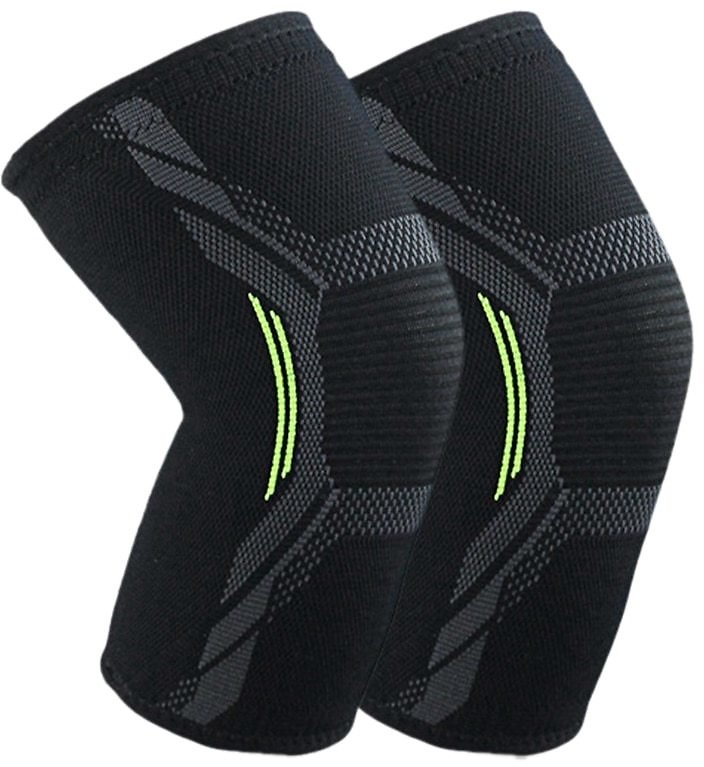Hot Breathable Basketball Football Sports Kneepad High Elastic Volleyball Knee Pads Brace Training Knee Support Protect XL