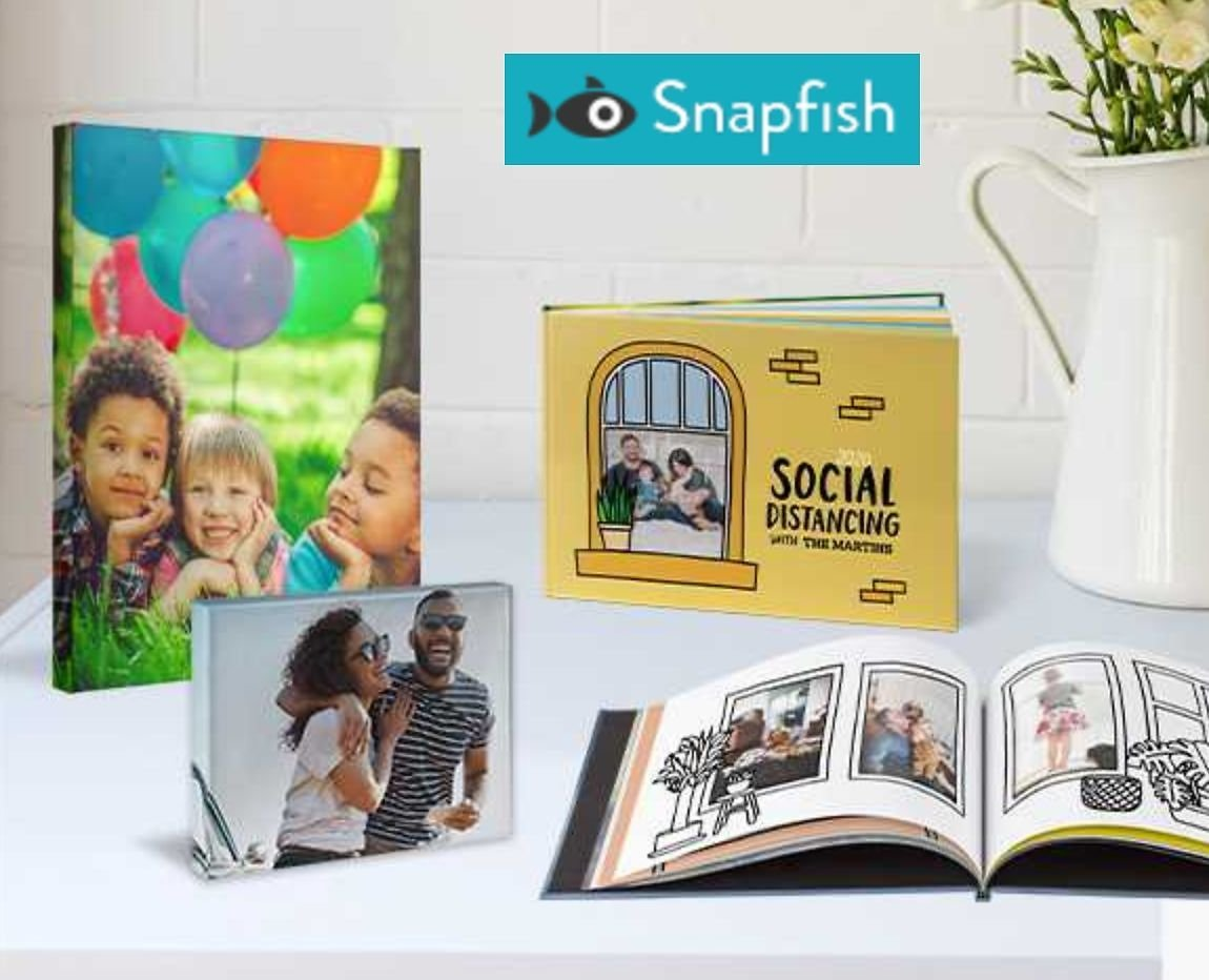 40% Off Snapfish Sitewide, 60% Off $40+ Books & Canvas