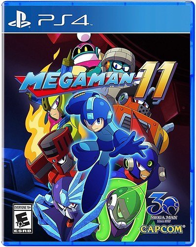 Mega Man 11, Capcom, PlayStation 4, 013388560578