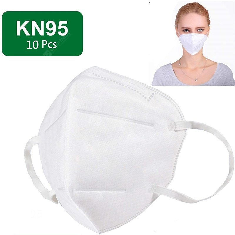 KN95 Mask N95 Respirator Virus Protection with Melt-blown Filter Safety Masks 10pcs Sale, Price & Reviews | Gearbest