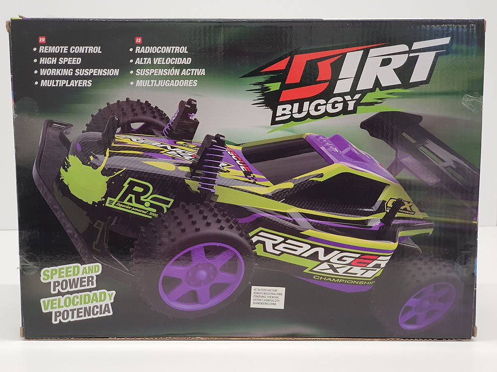 Buy RC 1:18 Scale Dirt Buggy Green & Purple - R Exclusive for CAD 17.98 | Toys R Us Canada
