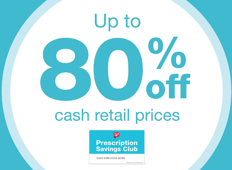 Up to 80% Off Cash Retail Prices for Medicare, Medicaid & Tricare - Join to Prescription Savings Club