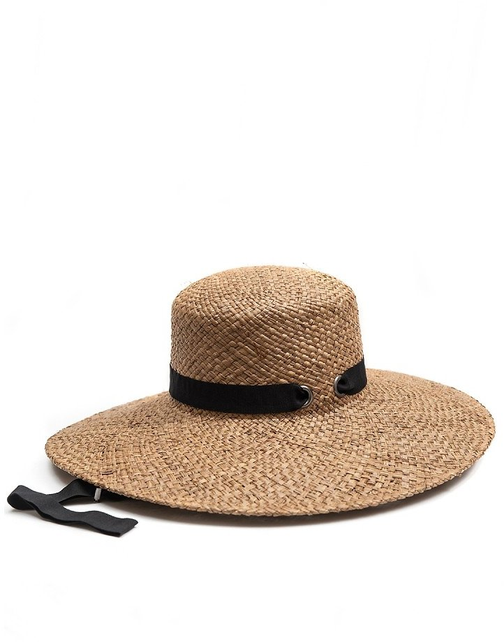 August Hat | Grosgrain Ribbon Straw Hat | Nordstrom Rack