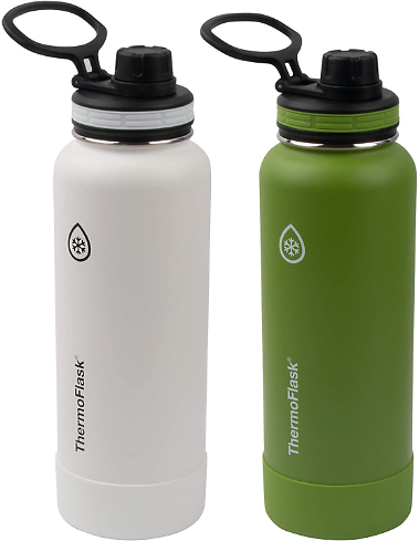 2PK Thermoflask Double Wall Vacuum Stainless Steel Water Bottle