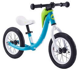 Kids Bike Alloy 12 Inch Balance Bike with Carrying Strap Balance Bycicle