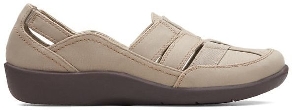 Sillian Stork Sand Synthetic Nubuck + F/S