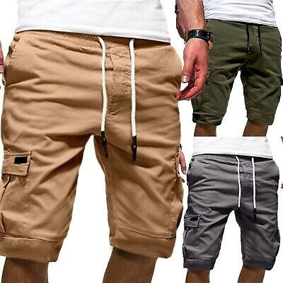 New Men's Summer Casual Comfy Shorts Baggy Gym Sport Jogger Sweat Shorts Pants